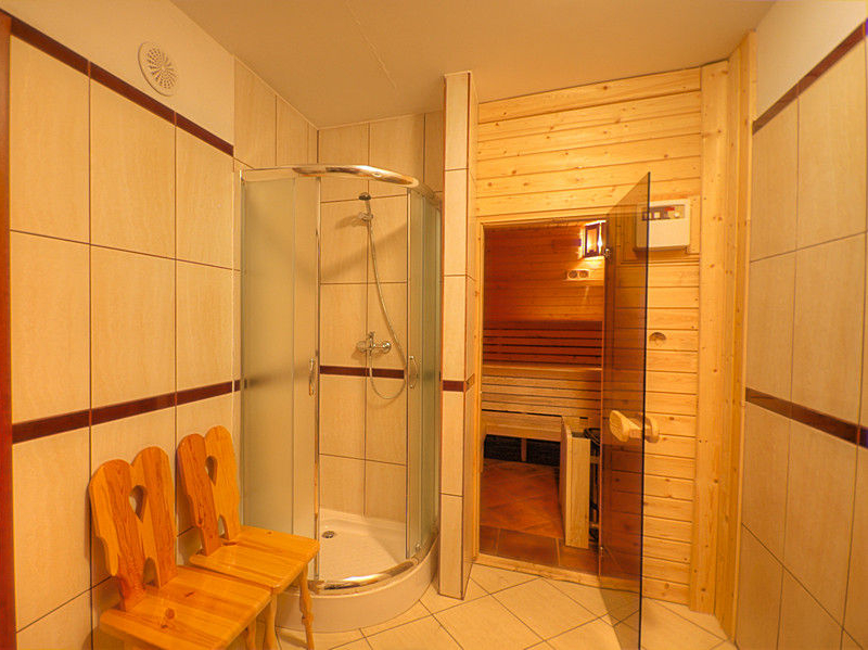 Sauna w Augustowii